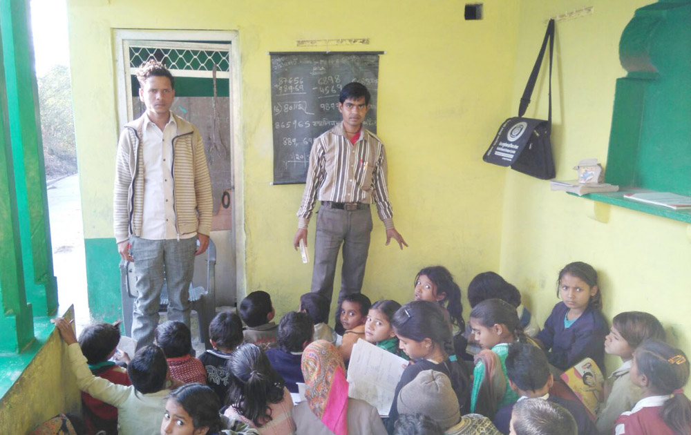 Teaching to Rural People Uttar Pradesh (ERDO)